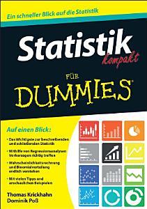 Statistik kompakt f  r Dummies PDF