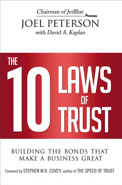 Download The 10 Laws of Trust Book