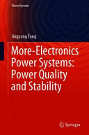More Electronics Power Systems  Power Quality and Stability PDF