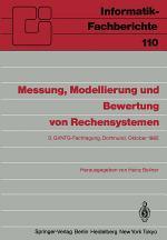 Messung, Modellierung und Bewertung von Rechensystemen