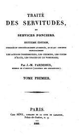 Traité des servitudes ou services fonciers