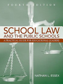 School Law and the Public Schools   Mylabschool Student Access Book