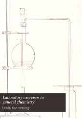 Laboratory exercises in general chemistry