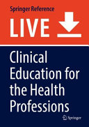 Clinical Education for the Health Professions PDF