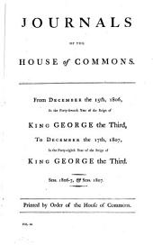 Journals of the House of Commons: Volume 62