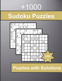 +1000 Sudoku Puzzles with Solutions