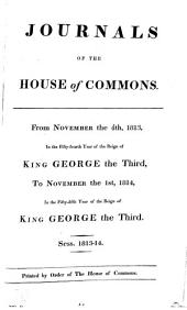 Journals of the House of Commons: Volume 69