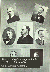 Manual of Legislative Practice in the ... General Assembly