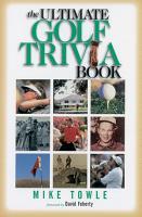 The Ultimate Golf Trivia Book PDF