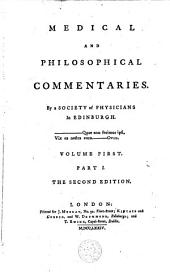 Medical and Philosophical Commentaries: Volume 1