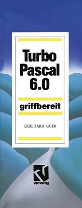 Turbo Pascal 6.0: Griffbereit, Ausgabe 4