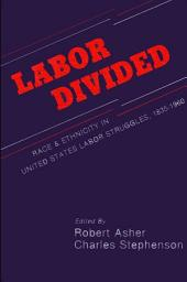 Labor Divided: Race and Ethnicity in United States Labor Struggles, 1835-1960