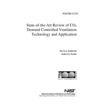 State-Of-The-Art Review of Co2 Demand Controlled Ventilation Technology and Application