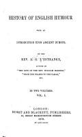 History of English Humour PDF