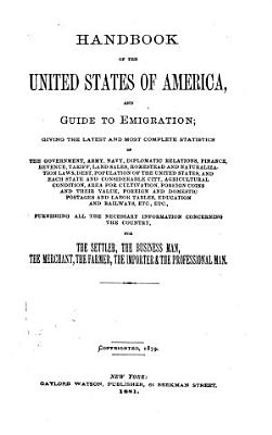 Handbook of the United States of America and Guide to Emigration    PDF