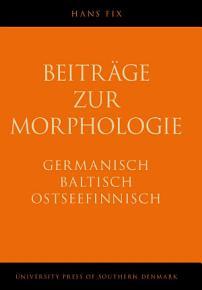 Beitr  ge zur Morphologie PDF