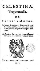 Celestina: tragicomedia de Calisto y Melibea