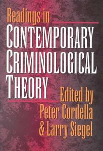 Readings in Contemporary Criminological Theory PDF