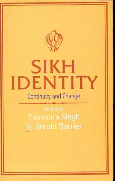 Sikh Identity PDF