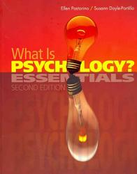 What Is Psychology Essentials Book PDF