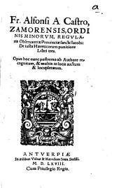 De iusta haereticorum punitione: libri tres
