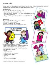 Alphabet Cards by Karen's Kids