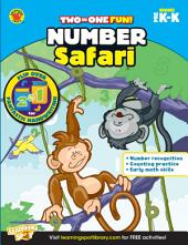 Number Safari & Fantastic Handwriting, Grades PK - K