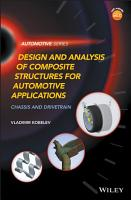Design and Analysis of Composite Structures for Automotive Applications PDF