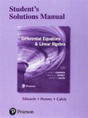 Students  Solutions Manual for Differential Equations and Linear Algebra PDF