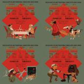 09 - Denslow's Mother Goose, 4-Volume Set (Traditional Chinese Hanyu Pinyin with IPA): 叮噹鵝媽媽(四冊)(繁體漢語拼音加音標)