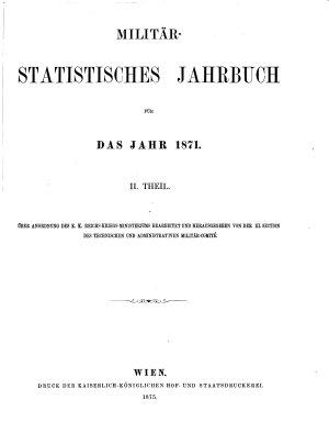 Milit  r statistisches Jahrbuch PDF