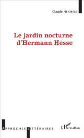 Le Jardin Nocturne d'Hermann Hesse