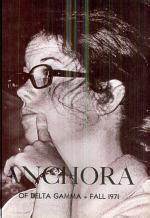 Anchora of Delta Gamma: Fall 1971