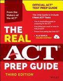 The Real ACT Prep Guide  Book   Bonus Online Content    Reprint