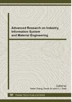 Advanced Research on Industry  Information System and Material Engineering PDF