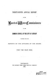 The Operating Report for the Fiscal Year Ending June 30 ...: Volume 39