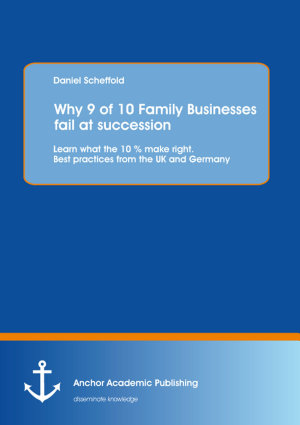 Why 9 of 10 Family Businesses fail at succession  Learn what the 10   make right  Best practices from the UK and Germany
