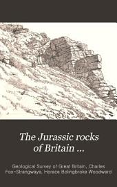 The Jurassic Rocks of Britain: Pub. by Order of the Lords Commissioners of Her Majesty's Treasury, Volume 4