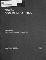 Naval Communications PDF
