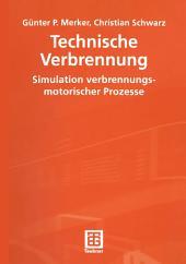 Technische Verbrennung Simulation verbrennungsmotorischer Prozesse