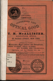 Condensed List of Optical Good  s  PDF