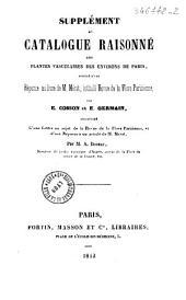 Supplément au Catalogue raisonné des plantes vasculaires des environs de Paris