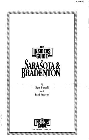 Insiders  Guide to Sarasota   Bradenton