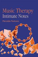 Music Therapy  Intimate Notes PDF