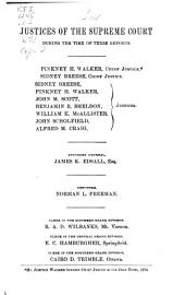 Reports of Cases at Law and in Chancery Argued and Determined in the Supreme Court of Illinois: Volume 72