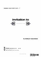 Invitation to Art PDF