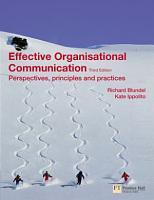 Effective Organisational Communication PDF