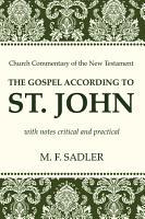 The Gospel According to St  John PDF