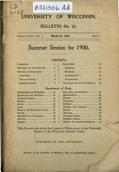 Bulletin: Issue 35, Part 1