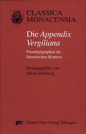 Die  Appendix Vergiliana  PDF
